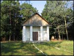 Łyskava.  Chapel at cemetery