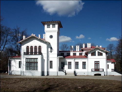 Pružany. Manor of Švykoŭski