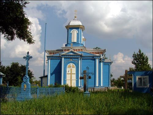 Žabinka. Orthodox church of the Protection of the Holy Virgin