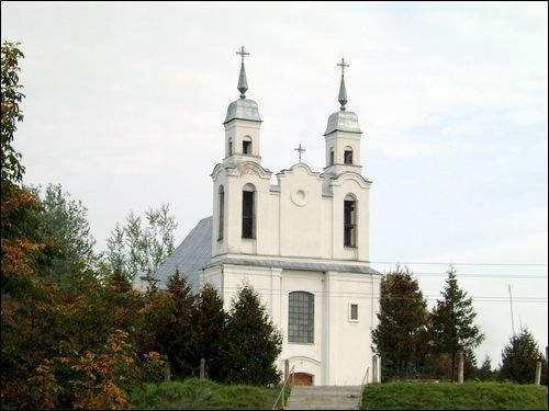 Kreva. Catholic church of St. Mary