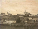 Hrodna.  Town at the old photos