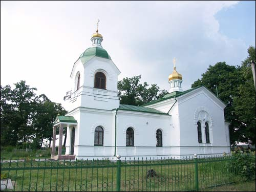 Miłavidy.  Orthodox church of Sergius of Radonezh