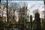 Hrodna.  cemetery Old Catholic (fara's)