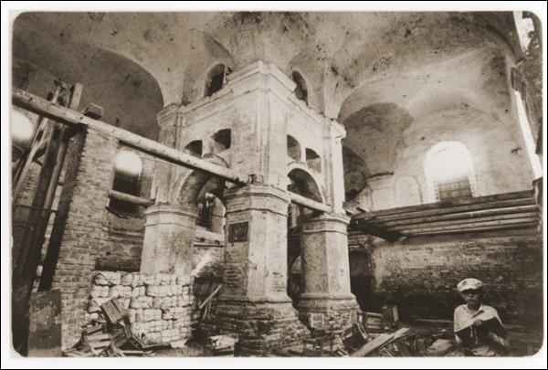 - Synagogue Main. Interior, fragment (1950th)