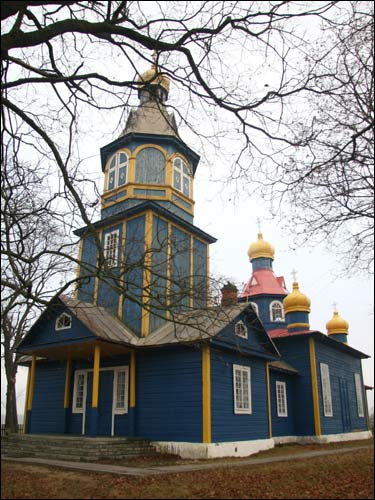 Pałonka. Orthodox church of St. Nicholas