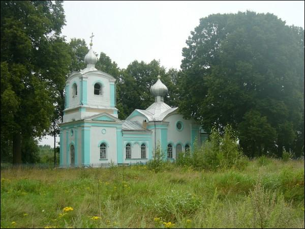 Kiščycy. Orthodox church of the Protection of the Holy Virgin