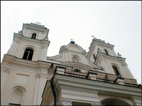Minsk. Catholic church of Name of the Blessed Virgin Mary