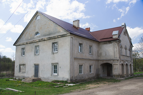 Pryłuki. Farmstead