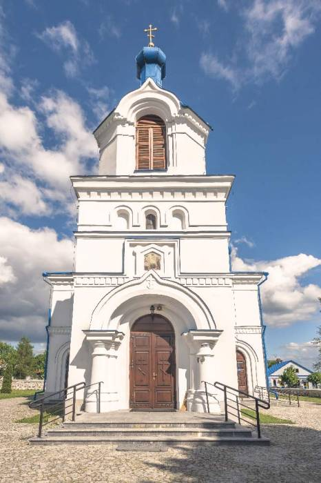 - Orthodox church of the Assumption. Orthodox church of the Assumption in Kleszczele
