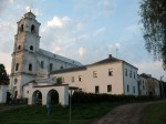 Druja.  Catholic church of the Holy Trinity and the Monastery of Bernardine