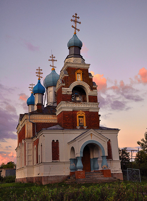 Drysviaty. Orthodox church of St. Peter and St. Paul