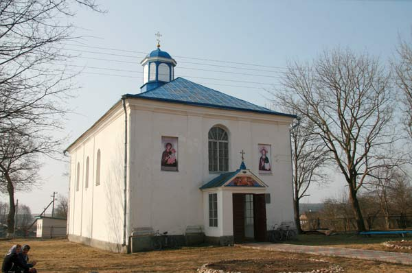 Bycień.  Orthodox church of the Assumption