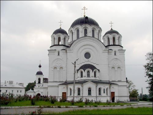 Połack. Orthodox church of the Exaltation of the Holy Cross