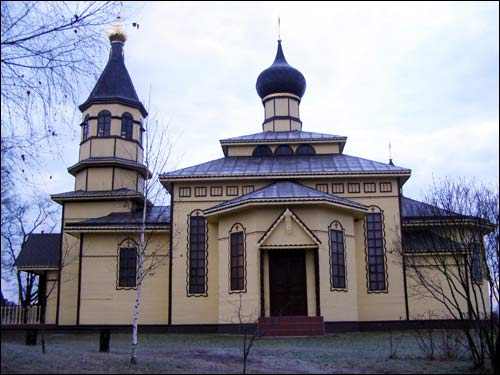 Cielachany.  Orthodox church of the Holy Trinity