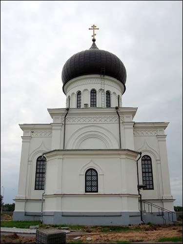 Vievis. Orthodox church of the Assumption