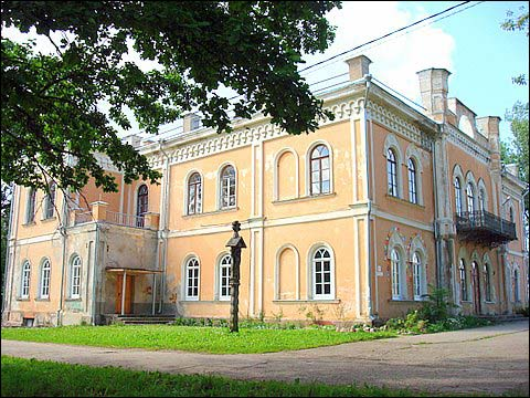 Glitiškės. Estate of Jeleński