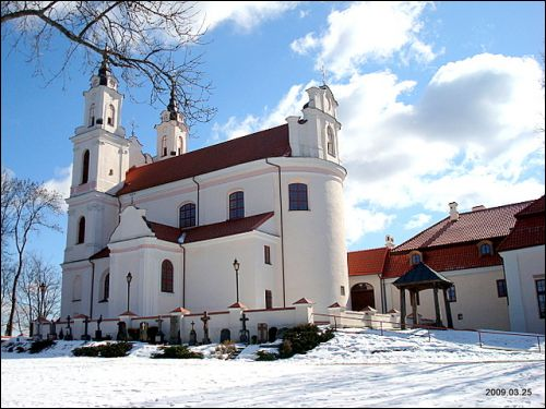 Kalvarijos (Vilnius). Catholic church of the Discovery of the Holy Cross