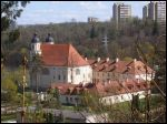 Trinapolis (Vilnius).  Catholic church of the Holy Trinity and the Monastery of Trinitarian