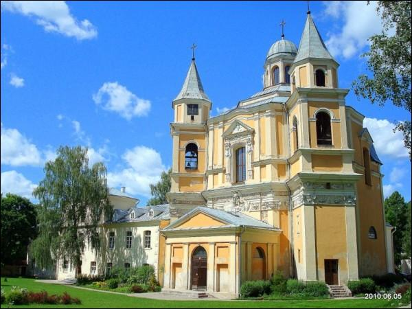 Vilnius. Catholic church of Our Lord Jesus and the Trinitarian monastery