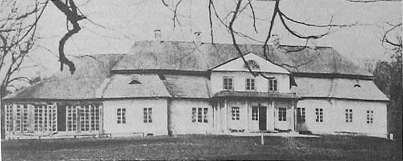 Lušnieva.  Manor of Vałovič