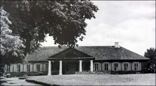 Sporava. Manor of Szyrma