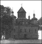 Dziatłavičy.  Orthodox church of the Transfiguration