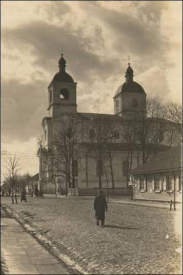 Pinsk. Catholic church of St. Dominic