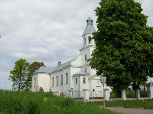Darava. Catholic church of the Assumption of the Blessed Virgin Mary