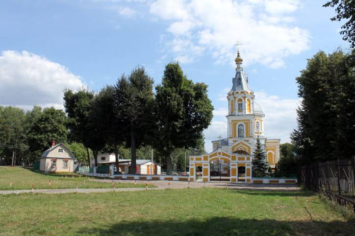 Novozybkov. Orthodox church of St. Michael the Archangel