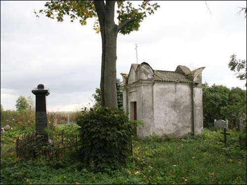 Svajatyčy. cemetery Old Catholic