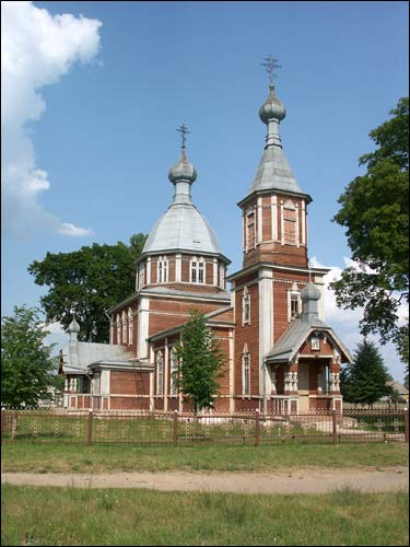 Vostraŭ. Orthodox church of St. Peter and St. Paul