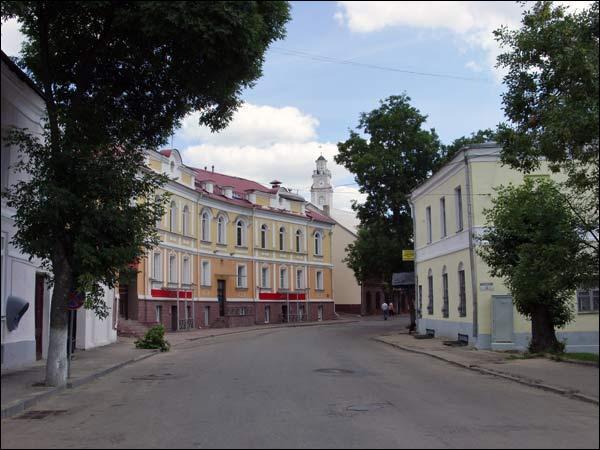 Витебск историческая застройка ул