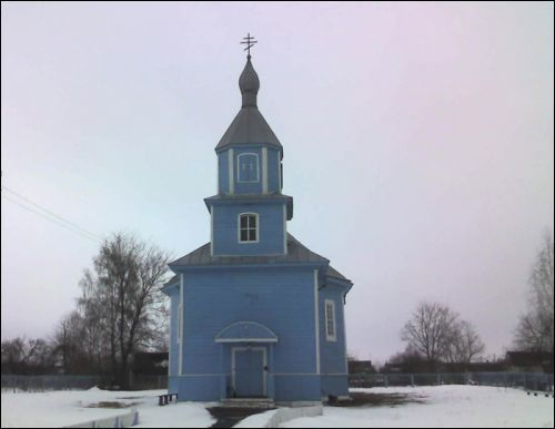 Łunin. Orthodox church of St. Barys And St. Hlieb