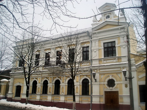 Homiel. Historical buildings Praletarskaja str.
