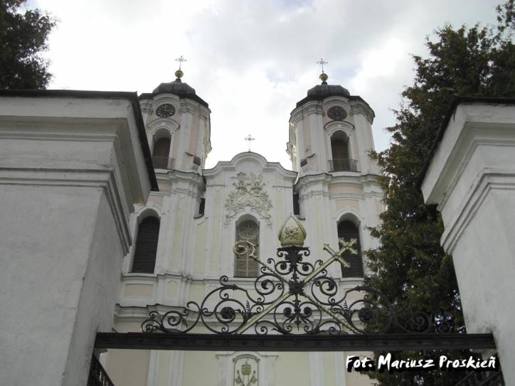 Sejny.  Catholic church of the Visitation of the Blessed Virgin Mary and Dominican monastery