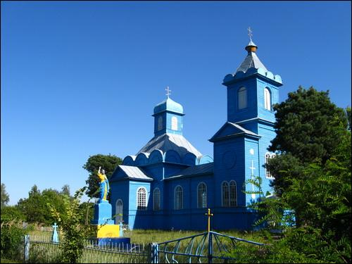 Lemiaševičy. Orthodox church of the Birth of the Virgin