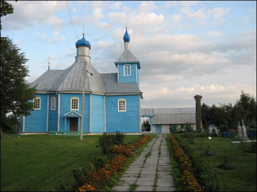 Pinkavičy. Orthodox church of the Protection of the Holy Virgin