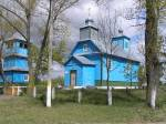 Vostraŭ.  Orthodox church of the Birth of the Virgin