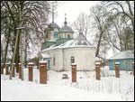 Posudichi.  Orthodox church of the Birth of the Virgin