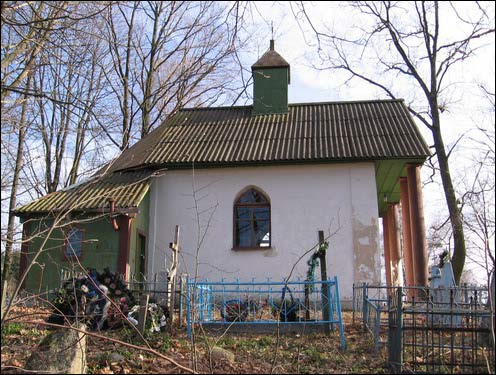 - Chapel of St. Aliaksandar Neuski. North facade