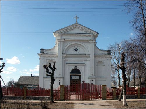 Pružany. Catholic church of the Assumption of the Blessed Virgin Mary