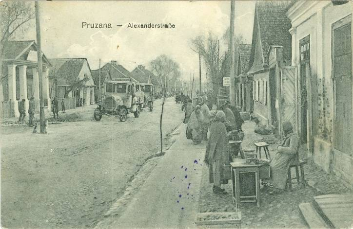Pružany. Town at the old photos