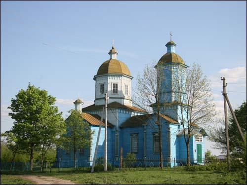 Hłybockaje.  Orthodox church of the Birth of the Virgin