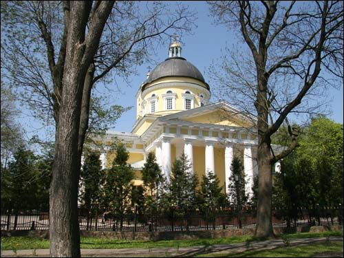 Homiel. Orthodox church of St. Peter and St. Paul