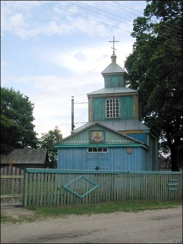 Prybałavičy. Orthodox church of the Protection of the Holy Virgin