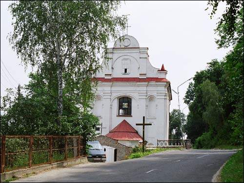 Mazyr. Catholic church of St. Michael the Archangel and the Cistercians Convent