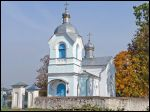 Dvarec.  Orthodox church of the Protection of the Holy Virgin