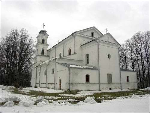 Varonča. Catholic church of St. Anne