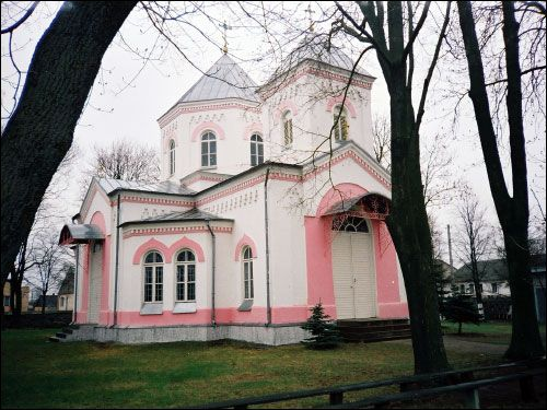Łunna. Orthodox church of St. John Precursor