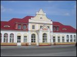 Słonim.  Railway station